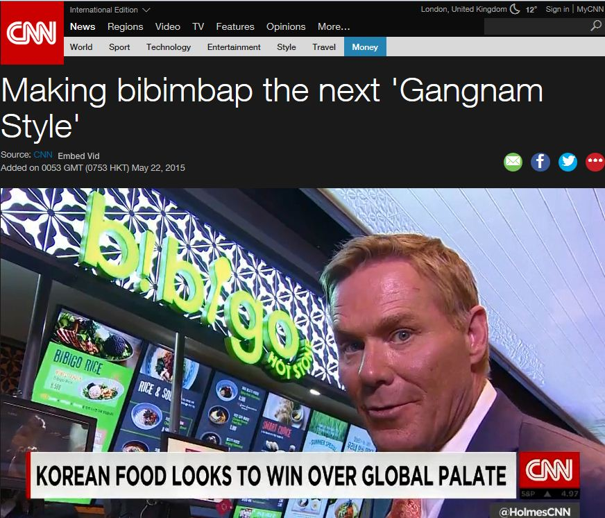 'Bibigo', the Hero of the Korean Food Revolution on CNN News