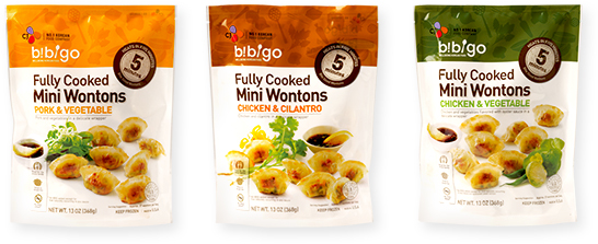 mini wontons Package image