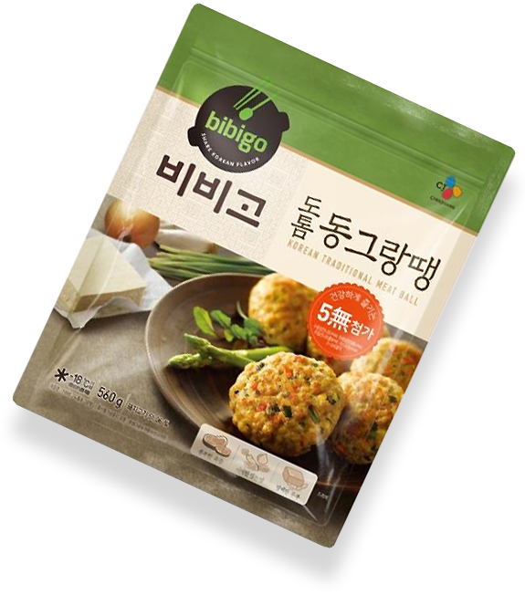 Korean-style meatballs Package image