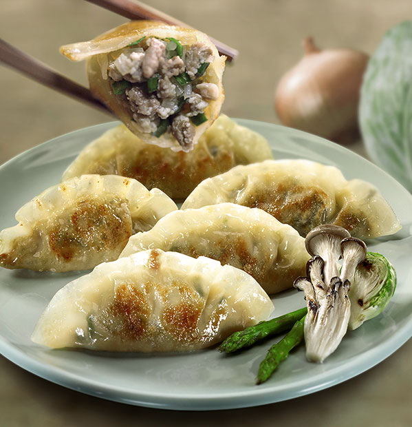 Enjoy the bibigo mandu of chunky fillings   bibigo global