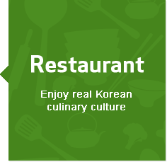 Restaurant.Enjoy real Korean culinary culture